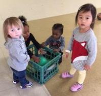 Having fun at The Learning Center at Calvary!